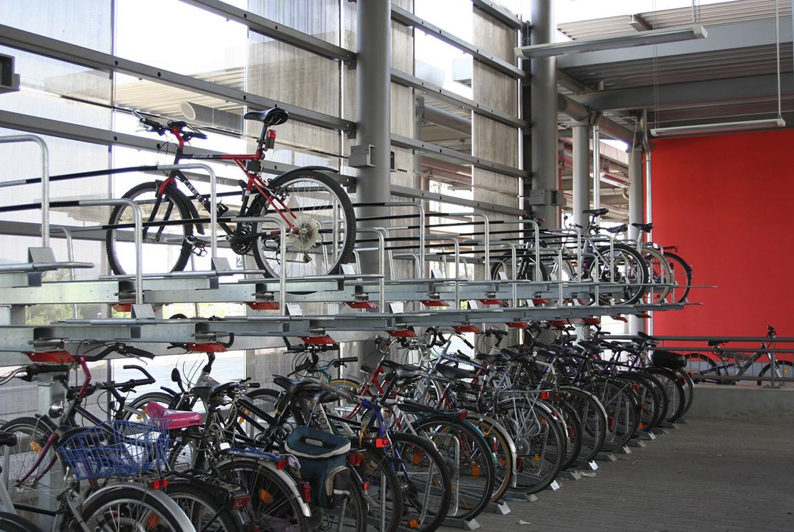 Parcheggio per biciclette a doppio livello Orion