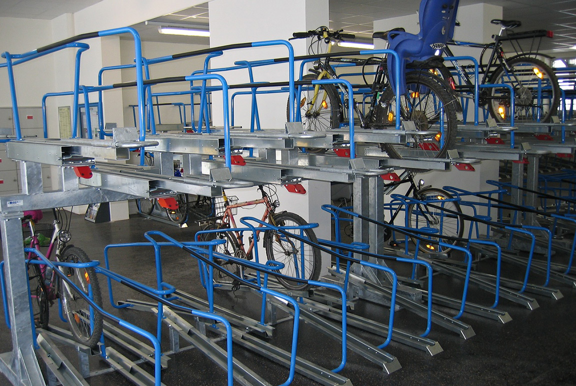 Sistema Orion parcheggio per biciclette a doppio livello