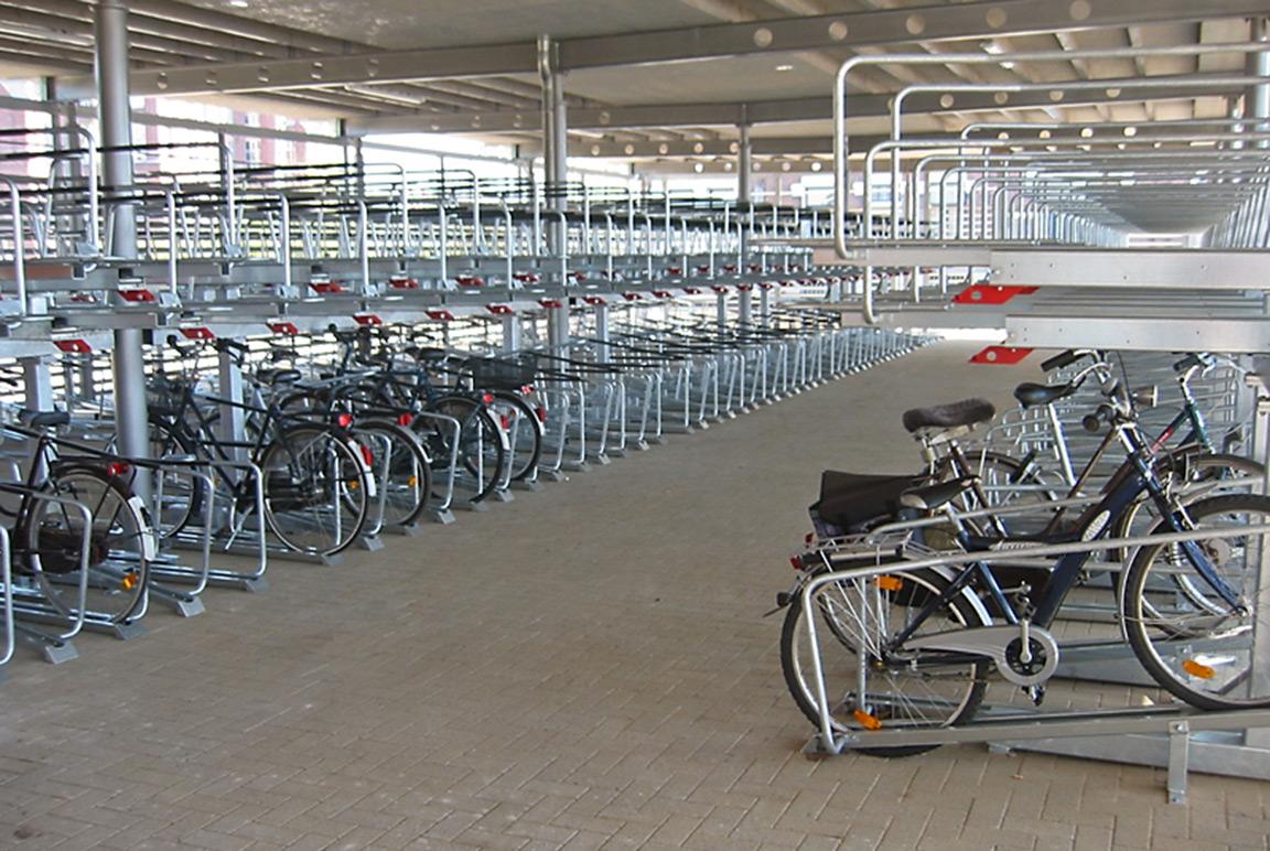 Orion sistema di parcheggio per biciclette a doppio livello