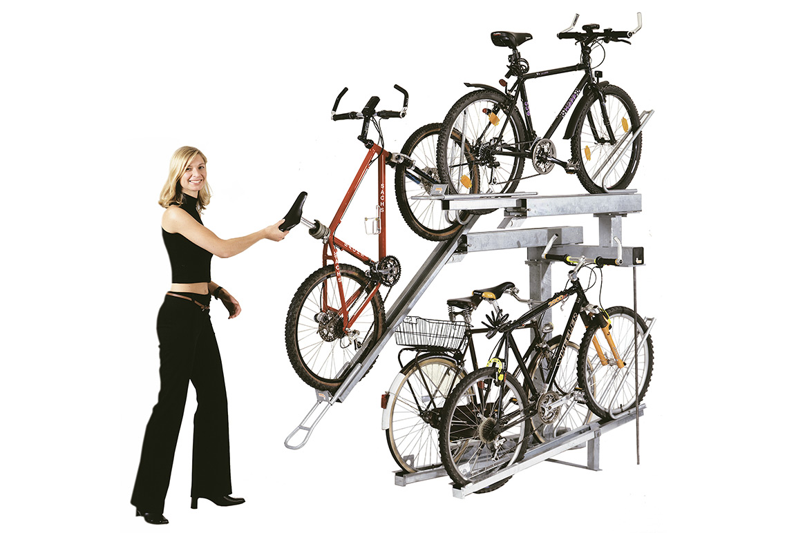 Orion parcheggio per biciclette a due livelli
