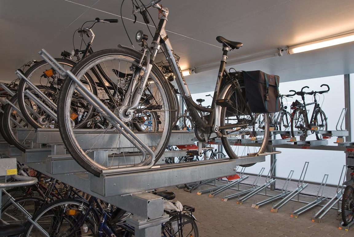 Parcheggio per bicicletta a doppio livello Orion